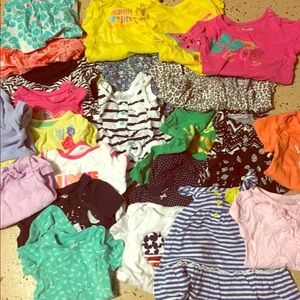 Other - Lot of toddler girl summer tops